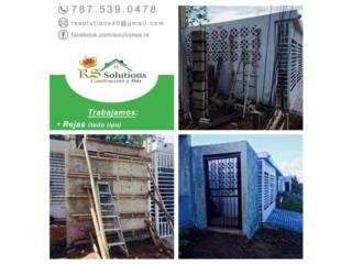 RS SOLUTIONS CONSTRUCCION Y MAS - Construccion Puerto Rico