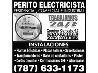 PERITO ELECTRICISTA  - Alquiler Puerto Rico