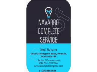 Navarro Complete Service Inc. - Reparacion Puerto Rico