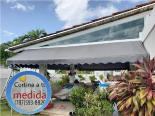 cortinas de lona Rain & Sun - Instalacion Puerto Rico