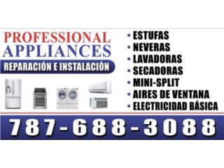 PROFESSIONAL APPLIANCES - Reparacion Puerto Rico