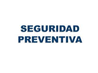 PATRULLAJE PREVENTIVO - Mantenimiento Puerto Rico