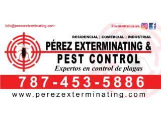 Pérez Exterminating & Pest Control - Mantenimiento Puerto Rico