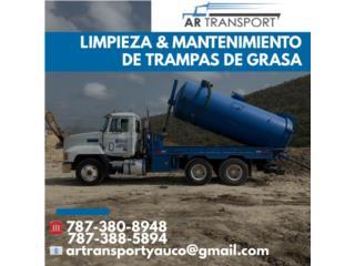 TRAMPA GRASA, BAÑO PORTATIL,  - Mantenimiento Puerto Rico