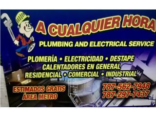 NEW MEGA DESTAPE PLUMBING & ELECTRIC SERVICE - Instalacion Puerto Rico
