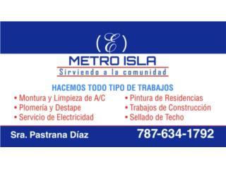 Metro&Isla - Mantenimiento Puerto Rico