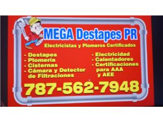 NEW MEGA DESTAPE PLUMBING & ELECTRIC SERVICE - Mantenimiento Puerto Rico