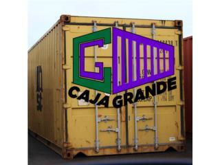 CAJA GRANDE - Alquiler Puerto Rico