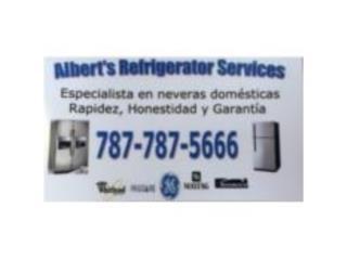 Albert's Refrigerator Services - Reparacion Puerto Rico