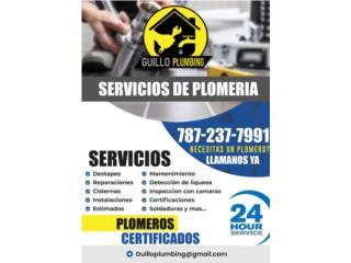 Guillo Plumbing - Instalacion Puerto Rico