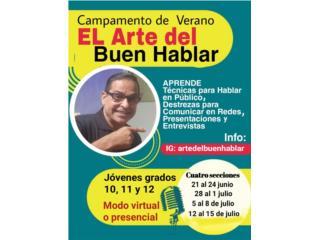 ARTE DEL BUEN HABLAR - Clases - Cursos Puerto Rico