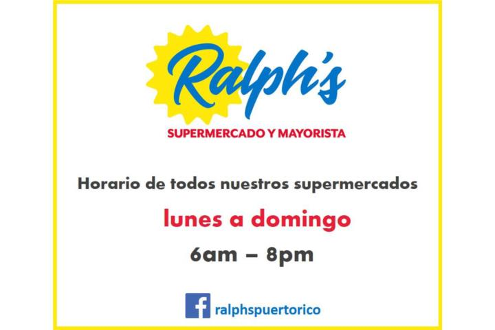 Supermercado Ralphs . Supermarkets, Cayey
