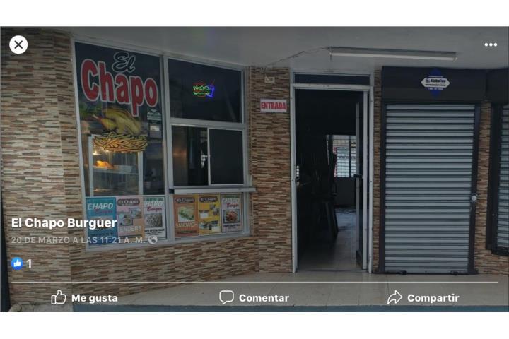 El Chapo Burguer. Steaks, Aguada