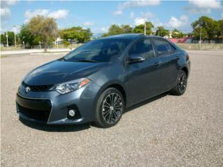 COROLLA S 2014 SUNROOF AUT $20495, Toyota Puerto Rico
