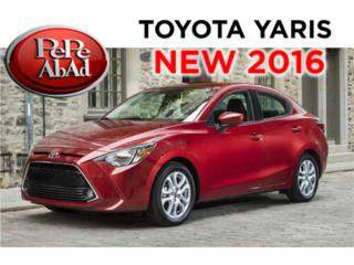 2016 Toyota Yaris ( sedan) Redise�ado , Toyota Puerto Rico