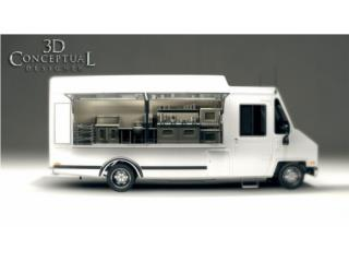 CUSTOM FOOD TRUCKS 2019, Trailers - Otros Puerto Rico