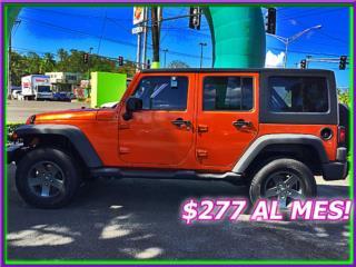 WRANGLER UNLIMITED, Jeep Puerto Rico