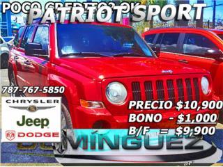 PATRIOT SPORT, Jeep Puerto Rico