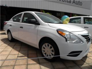 VERSA S 1.6 2016 $14,760 , Nissan Puerto Rico