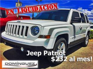 JEEP PATRIOT SPORT, Jeep Puerto Rico