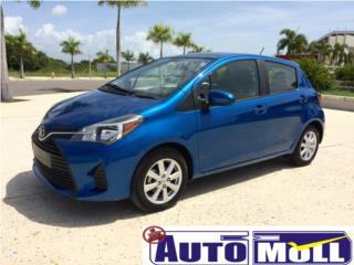 2015 TOYOTA YARIS HATCHBACK LE PREMIUM, Toyota Puerto Rico