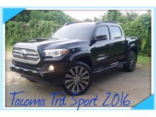 2016 TOYOTA TACOMA TRD SPORT, Toyota Puerto Rico