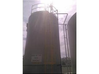 Tanque 20,000 galones en Carbon Steel , Equipo Construccion Puerto Rico