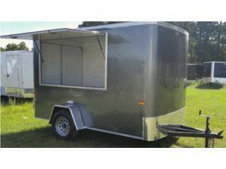 6x10 trailer concession!, Trailers - Otros Puerto Rico