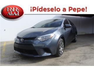2014 Toyota Corolla Gris, Toyota Puerto Rico