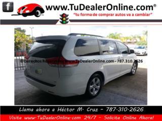 Toyota Sienna 2013 - Paga Solo $329 Mens, Toyota Puerto Rico