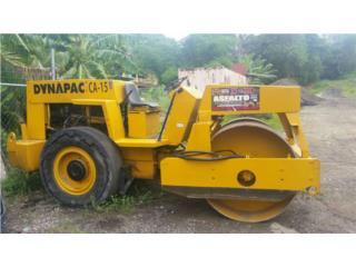 Rolo - Dynapac CA-15 PR, Equipo Construccion Puerto Rico