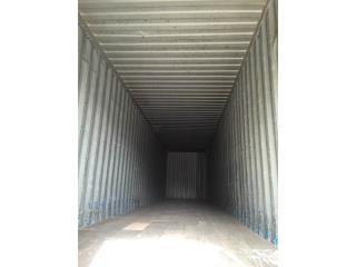 Vagones en acero de 45 pies High Cube, Equipo Construccion Puerto Rico