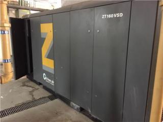 Compresor Atlas Copco ZT160VSD 215hp 856cfm, Equipo Construccion Puerto Rico
