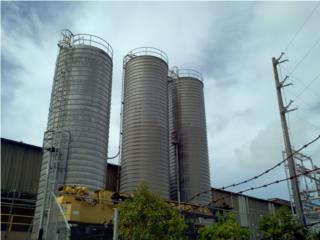 Tanque ''CILO'' de 55,000 galones en aluminio, Equipo Construccion Puerto Rico