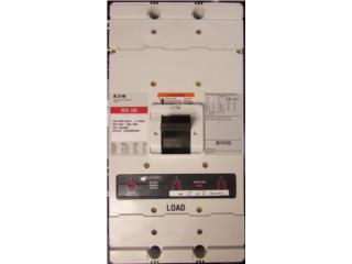 Circuit Breakers de 15 hasta 2,500 Amperes , Equipo Construccion Puerto Rico