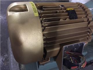 Motores el�ctricos trifasicos de 1-800HP , Equipo Construccion Puerto Rico