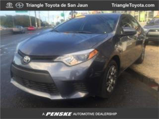 2014 Toyota Corolla L Sedan , Toyota Puerto Rico