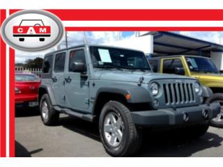 JEEP WRANGLER UNLIMITED SPORT 2014 , Jeep Puerto Rico