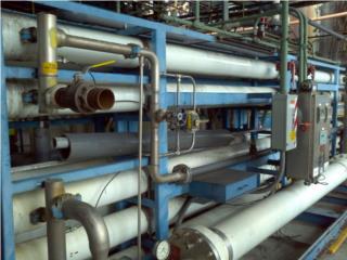 Sistema RO de 300 gpm(Membranas Nuevas)*, Equipo Construccion Puerto Rico