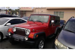 RUBICON UNLIMITED 6 CAMBIOS 06 19K, Jeep Puerto Rico