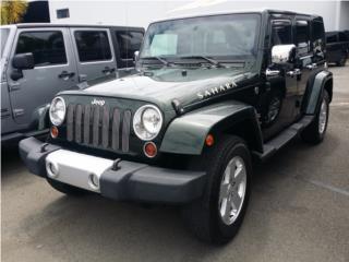 JEEP WRANGLER SAHARA 2011, EXTRACLEAN!!!, Jeep Puerto Rico