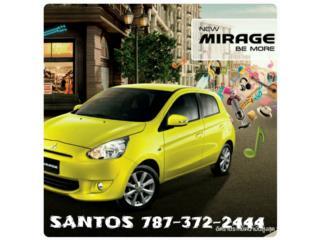 MIRAGE 44MPG AROS LUJO,BT, CAMARA, GPS,10/100, Mitsubishi Puerto Rico