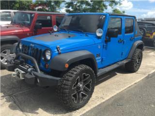 JEEP WRANGLER UNLIMITED SPORT 2012, Jeep Puerto Rico