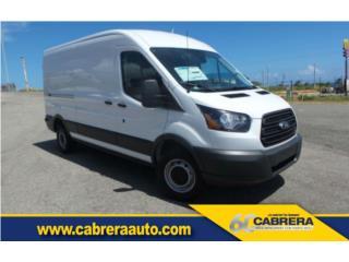 TRANSIT 250 DE CARGA!!! 2016, Ford Puerto Rico