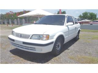 TOYOTA TERCEL 1999...NUEVO, Toyota Puerto Rico