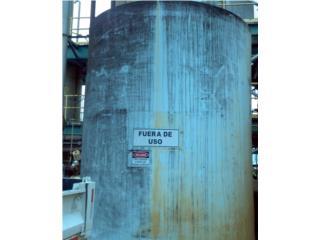 Tanque de pl�stico de 12,000 galones, Equipo Construccion Puerto Rico