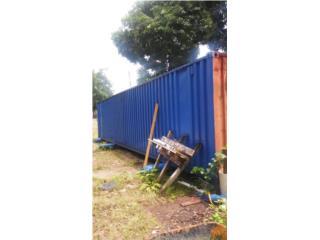 Vagon en acero de 40 pies high cube, Equipo Construccion Puerto Rico