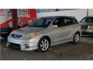 TOYOTA MATRIX XRS 2003, Toyota Puerto Rico