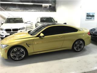 M4 Austin Yellow 2015/ 30k millas / Garantía, BMW Puerto Rico