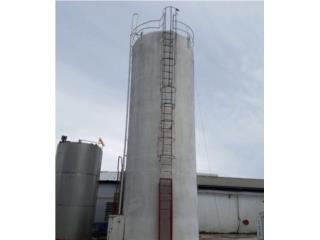 Tanque de 25,000 gals en stainless steel 316, Equipo Construccion Puerto Rico